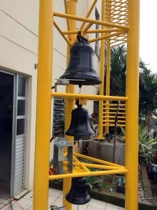 The 3 bells: St. Christine, St. Yves and St. Sergius
