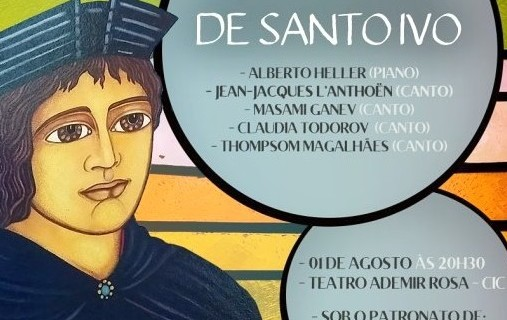 Fifth edition of the Santo Ivo 2018 Concert!