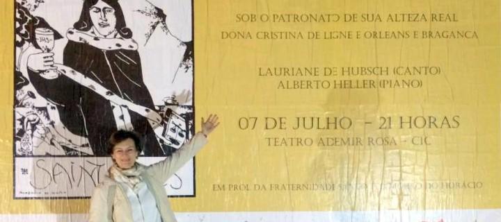 Énorme succès de la quatrième édition du concert Santo Ivo 2017 à Florianópolis!
