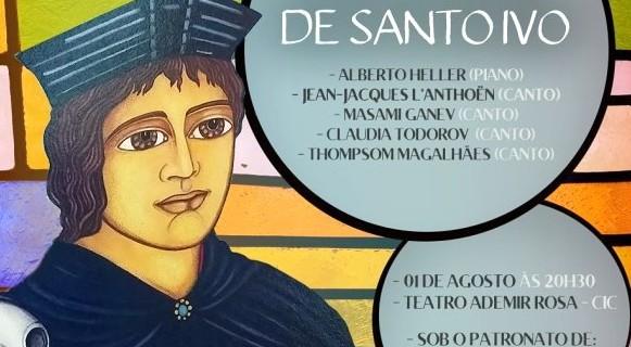 Quinta edição do Concerto Santo Ivo 2018!